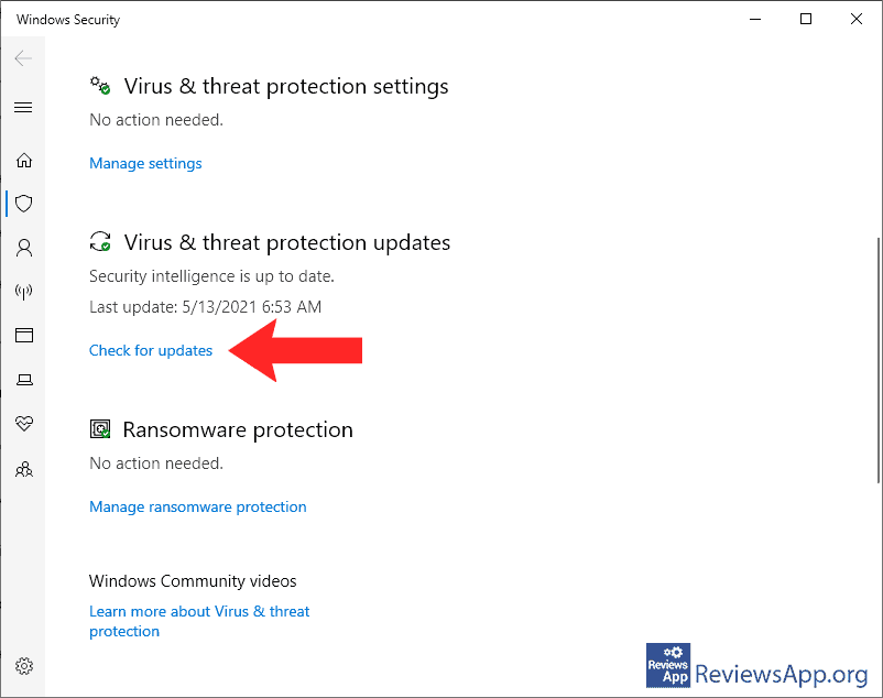 How to update Windows Defender