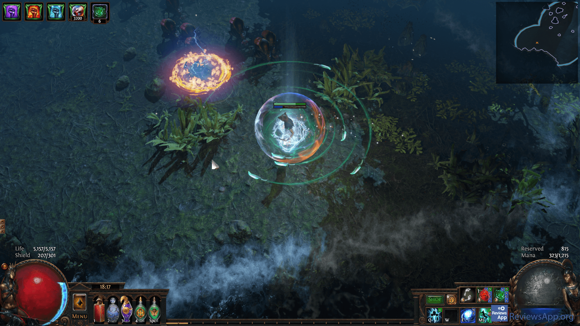 Path of Exile fight