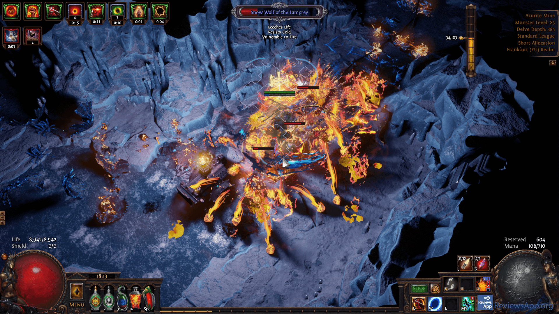 Path of Exile in game