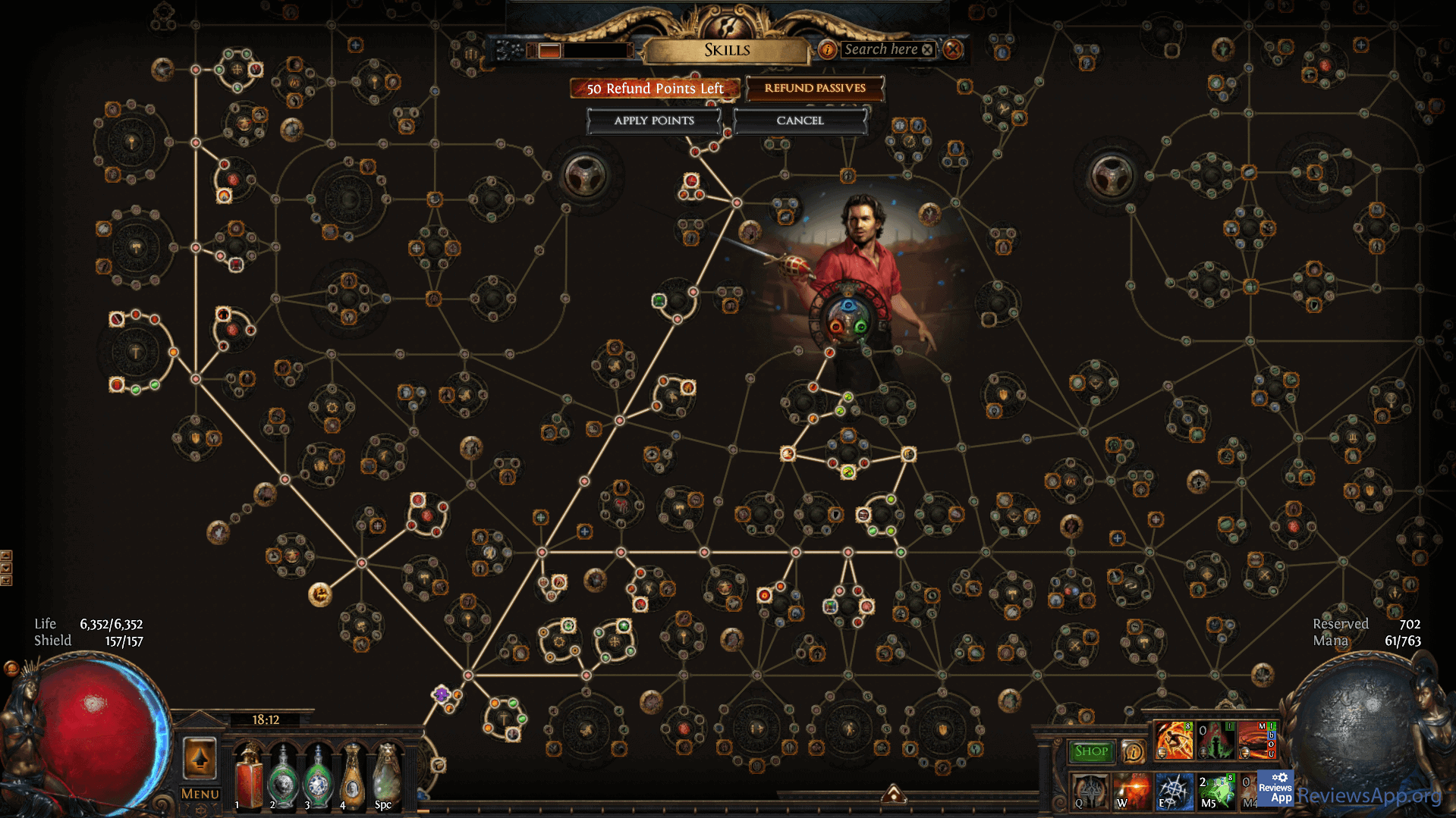 Path of Exile skills