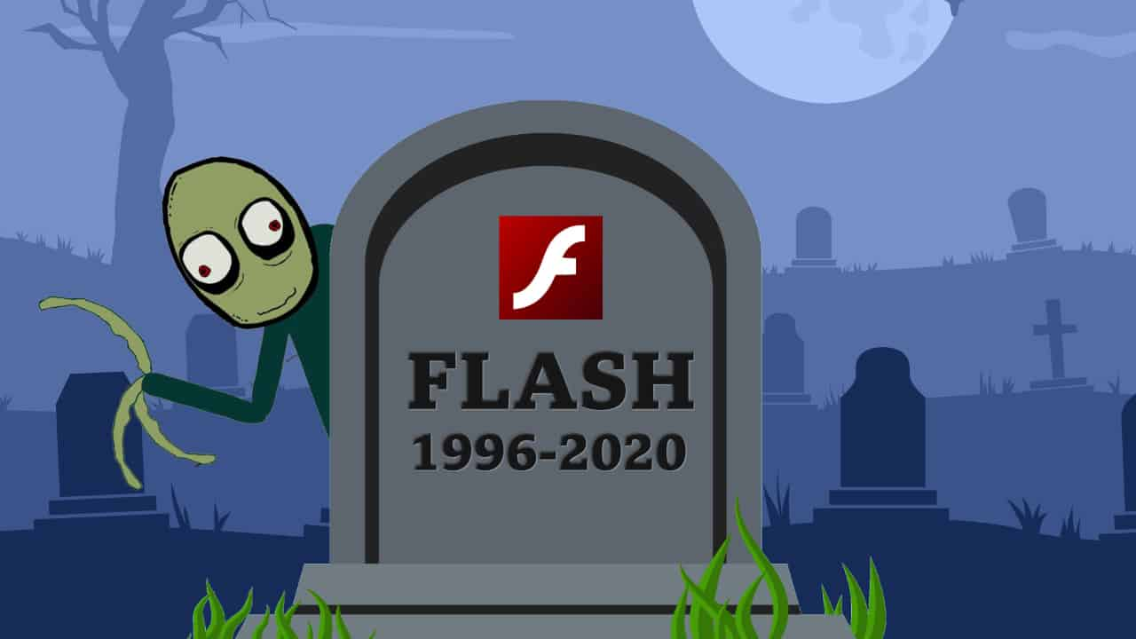 The end of Flash Player