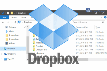 Automatically share files from pc to Dropbox