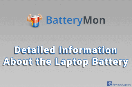 BatteryMon – Detailed Information About the Laptop Battery
