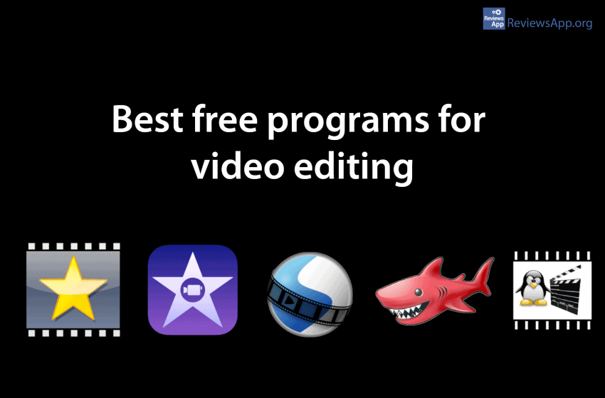 Best free programs for video editing
