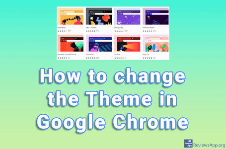 How to change the theme in Google Chrome