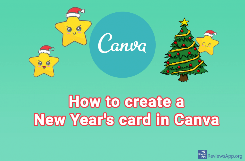 How to create a Christmas card in Canva