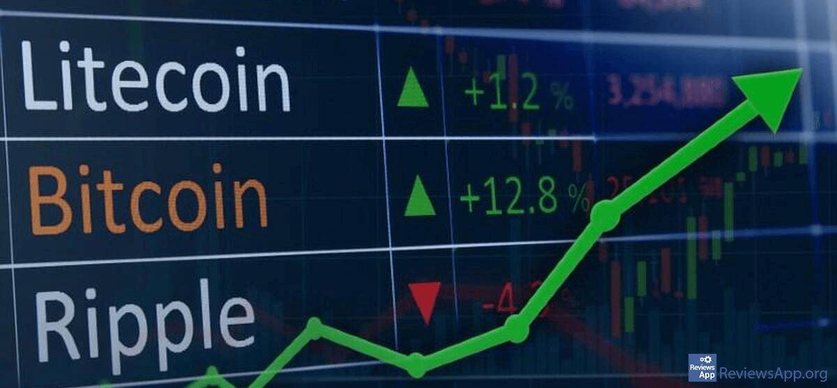 cryptocurrencies graph