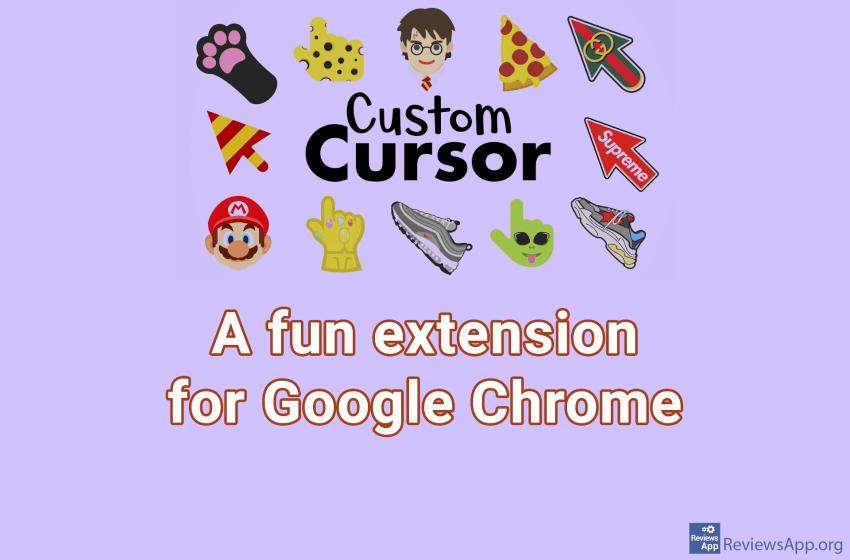 Custom Cursor – a fun extension for Google Chrome