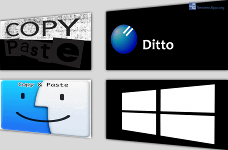 Ditto Clipboard Manager for Windows 10
