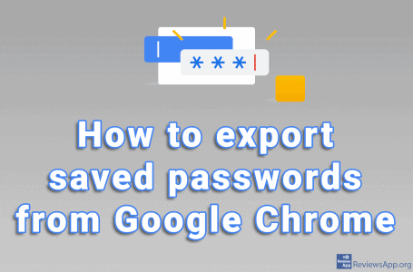 How to export saved passwords from Google Chrome
