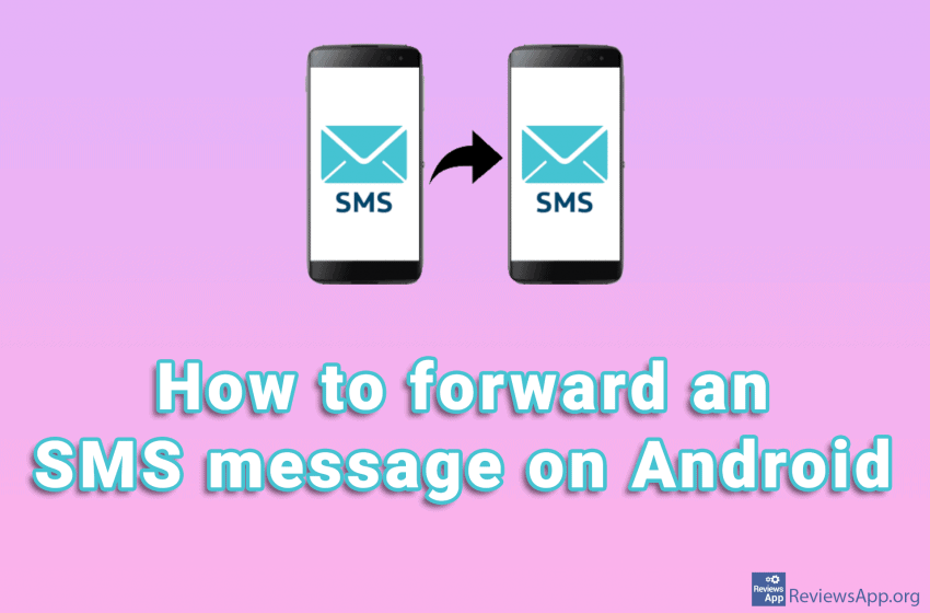 How to forward an SMS message on Android