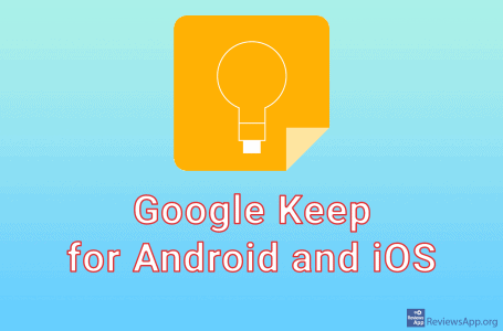 Google Keep for Android and iOS