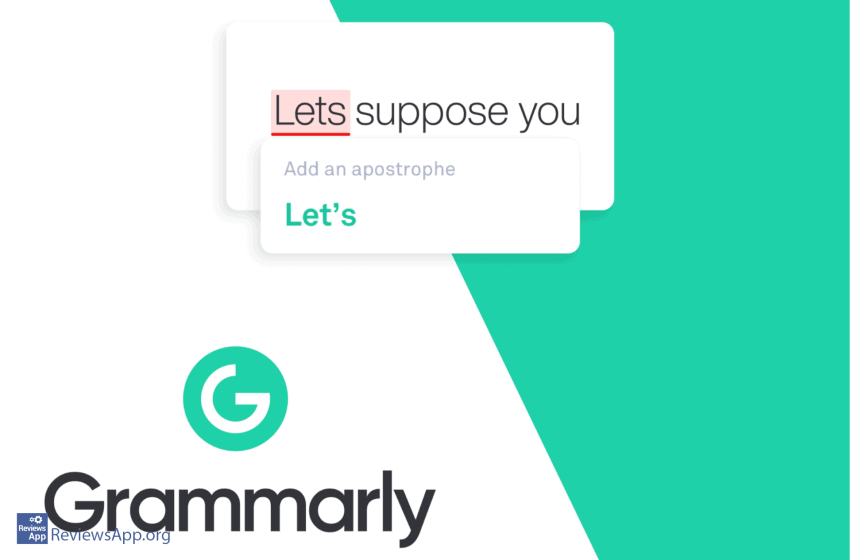 Grammarly – for perfect writing in English