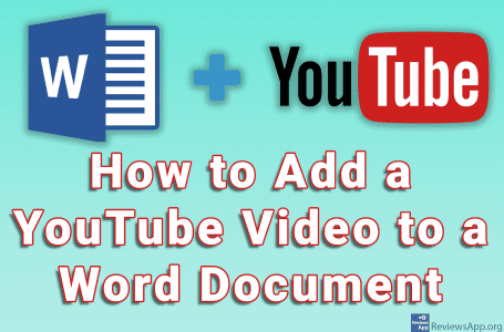 How to Add a YouTube Video to a Word Document