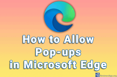 How to Allow Pop-ups in Microsoft Edge