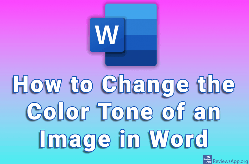 How to Change the Color Tone of an Image in Word