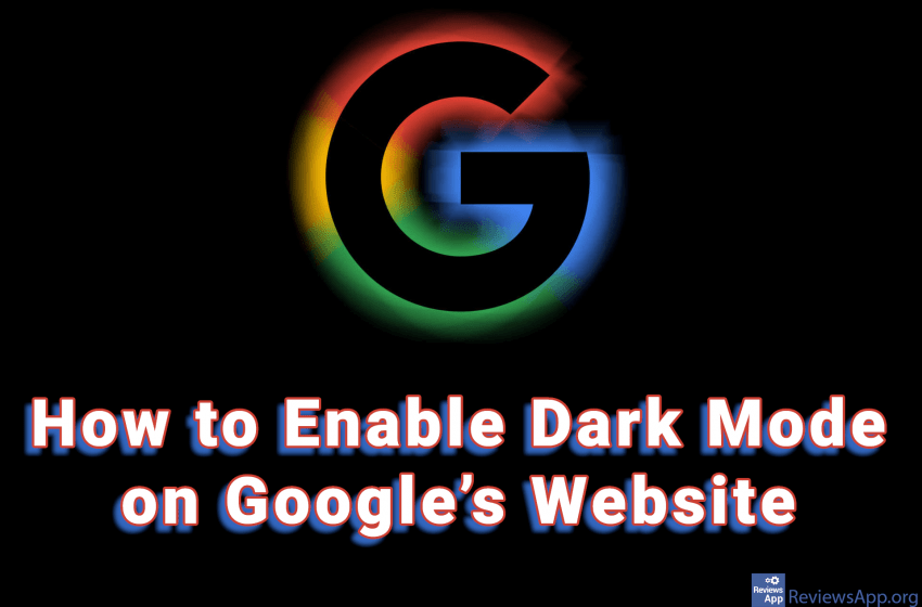 How to Enable Dark Mode on Google's Website