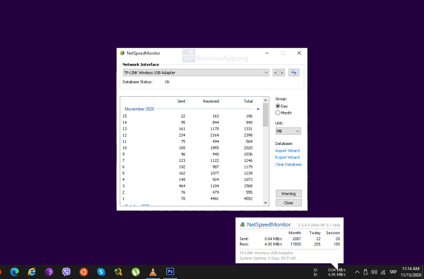 How to Install NetSpeedMonitor in Windows 10