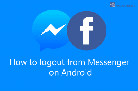How to logout from Messenger on Android