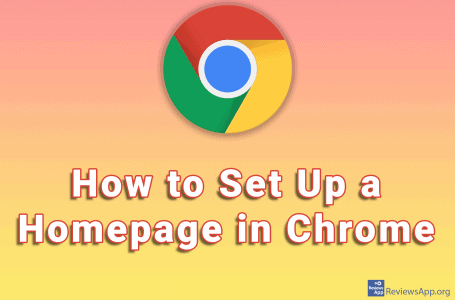 How to Set Up a Homepage in Chrome
