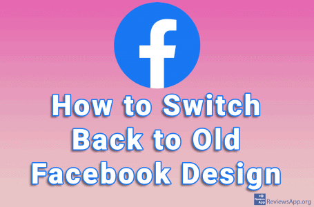 How to Switch Back to Old Facebook Design