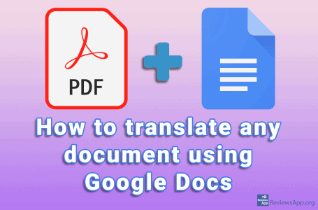 How to translate any document using Google Docs