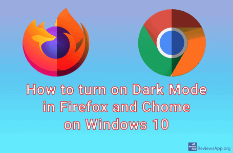 How to turn on Dark Mode in Firefox and Chome on Windows 10
