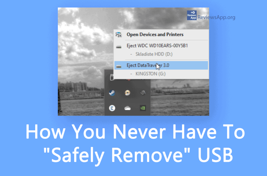 "How You Never Have To ""Safely Remove"" USB in Windows 10"