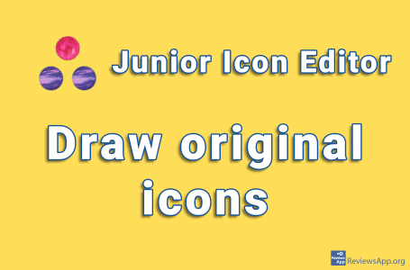 Junior Icon Editor – draw original icons