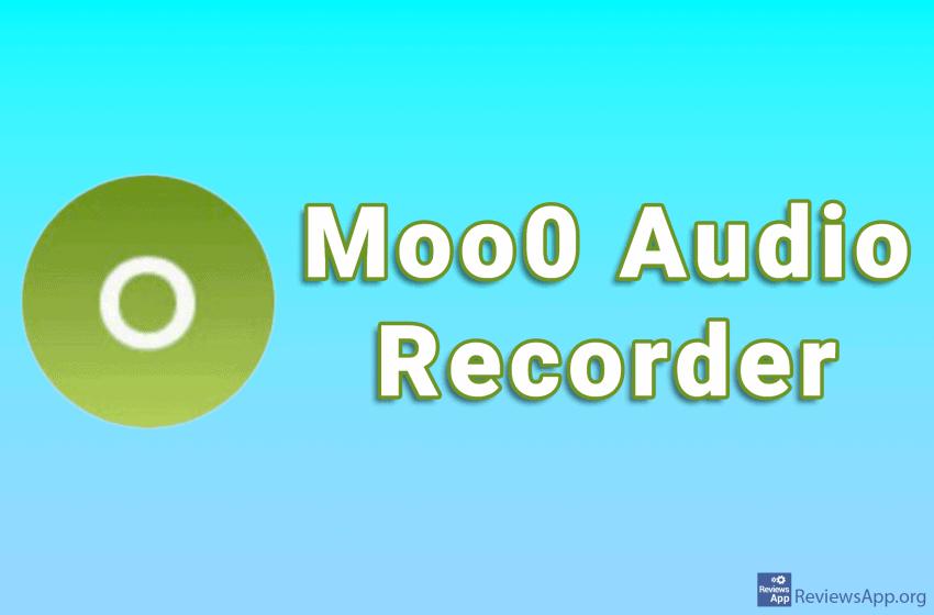 Moo0 Audio Recorder