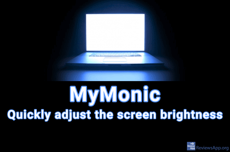 MyMonic – quickly adjust the screen brightness