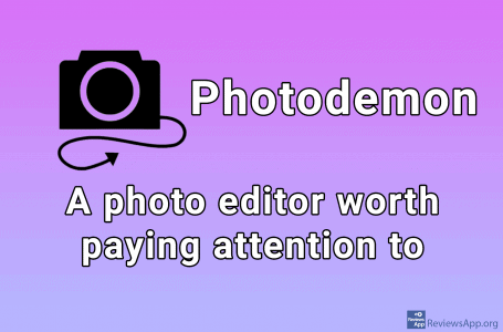 Photodemon – a free image editing program