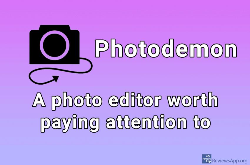 Photodemon – a free image editing program