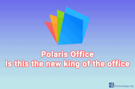 Polaris Office – free tools for office business