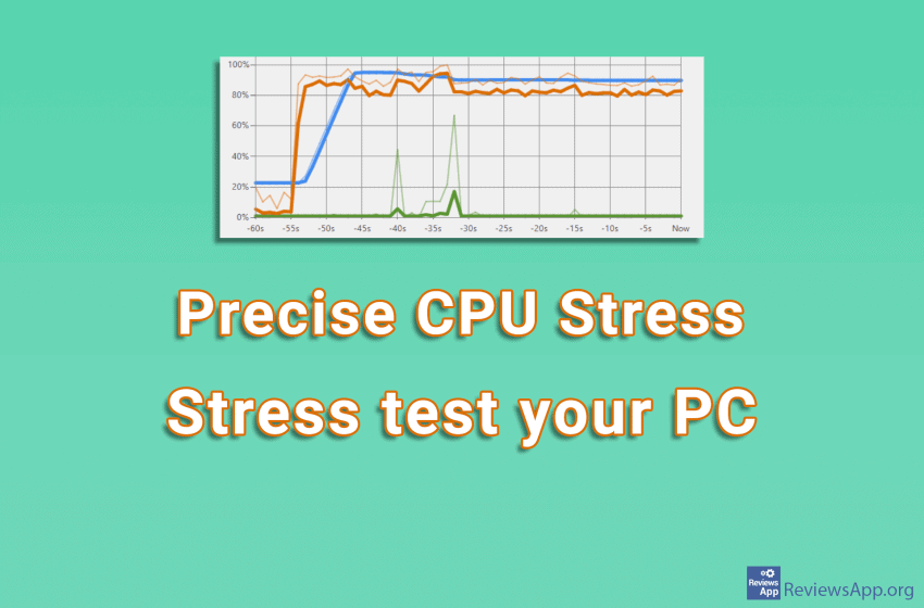 Precise CPU Stress – stress test your PC