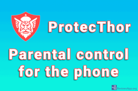ProtecThor – parental control for the phone