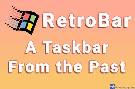 RetroBar – A Taskbar From the Past