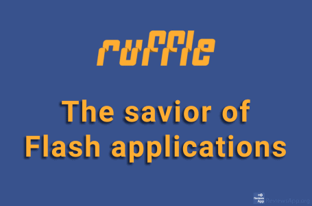 Ruffle – the savior of Flash applications