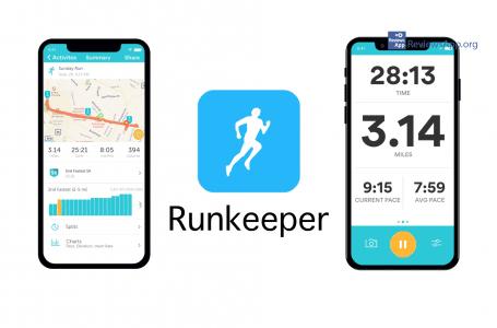 RunKeeper free sports training application