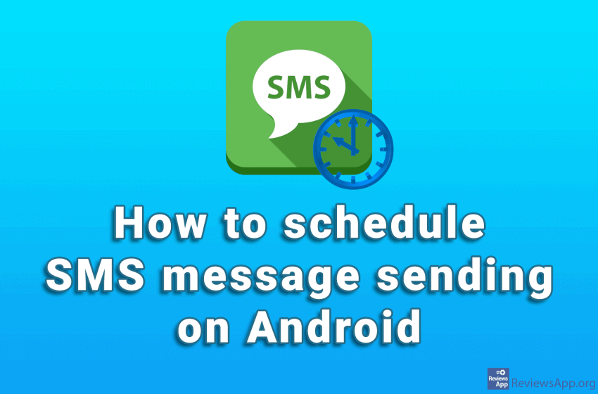 How to schedule SMS message sending on Android