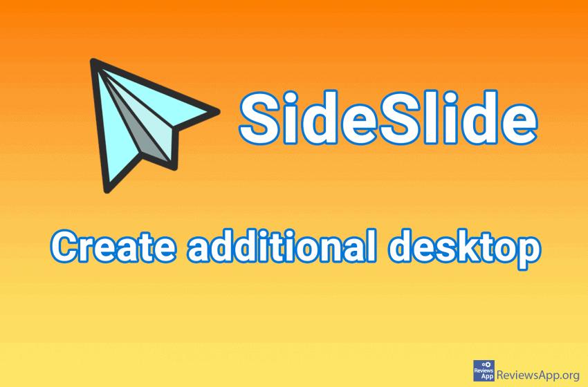 SideSlide – create additional desktop