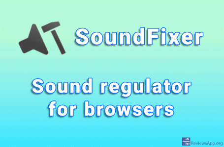 SoundFixer – sound regulator for browsers