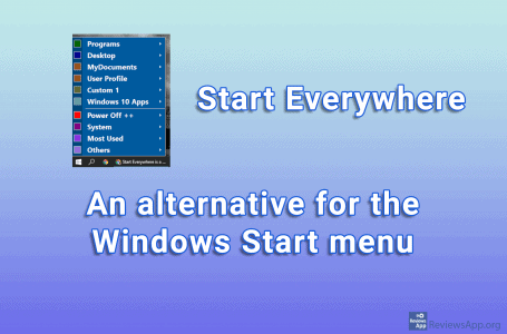 Start Everywhere – an alternative for the Windows Start menu