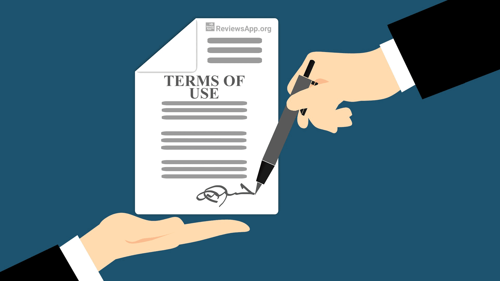 Reviews App - Terms of Use