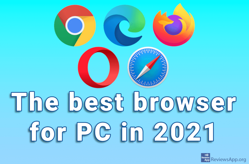 The best browser for PC in 2021