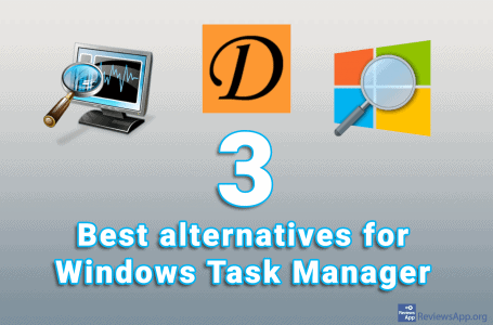 Three best free alternatives for Windows Task Manager