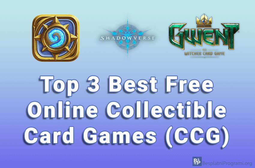 Top 3 Best Free Online Collectible Card Games (CCG)