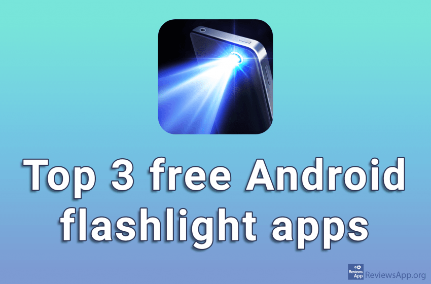 Top 3 free Android flashlight apps