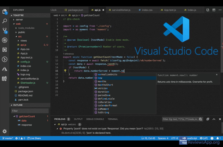 Visual Studio Code – a powerful tool for all developers