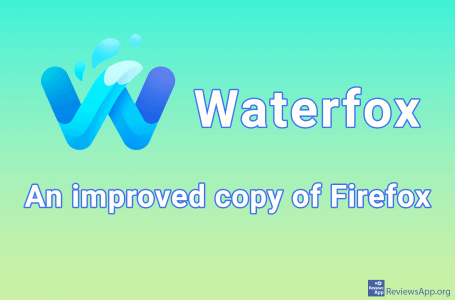 Waterfox – an improved copy of Firefox